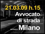 21.03.09 Avvocato di strada arriva a Milano