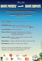 """08.05.12 Avvocato di strada al convegno organizzato dalla Luiss """"Nuove povertà, nuove risposte"""""""