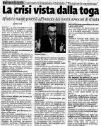 """""""La crisi vista dalla toga"""". Intervista a Francesco Carricato, coordinatore di Avvocato di strada Rovigo"""
