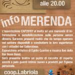 """13.01.13 Avvocato di strada Milano alla """"Merenda di sensibilizzazione sulle persone senza dimora"""""""