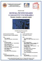 """17.05.13 A Salerno l'incontro di studi """"Sistema penitenziario e soggetti vulnerabili. Stranieri, homeless e garanzie negate"""""""