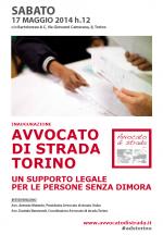 Tutela legale gratuita alle persone senza dimora. Nasce Avvocato di strada Torino