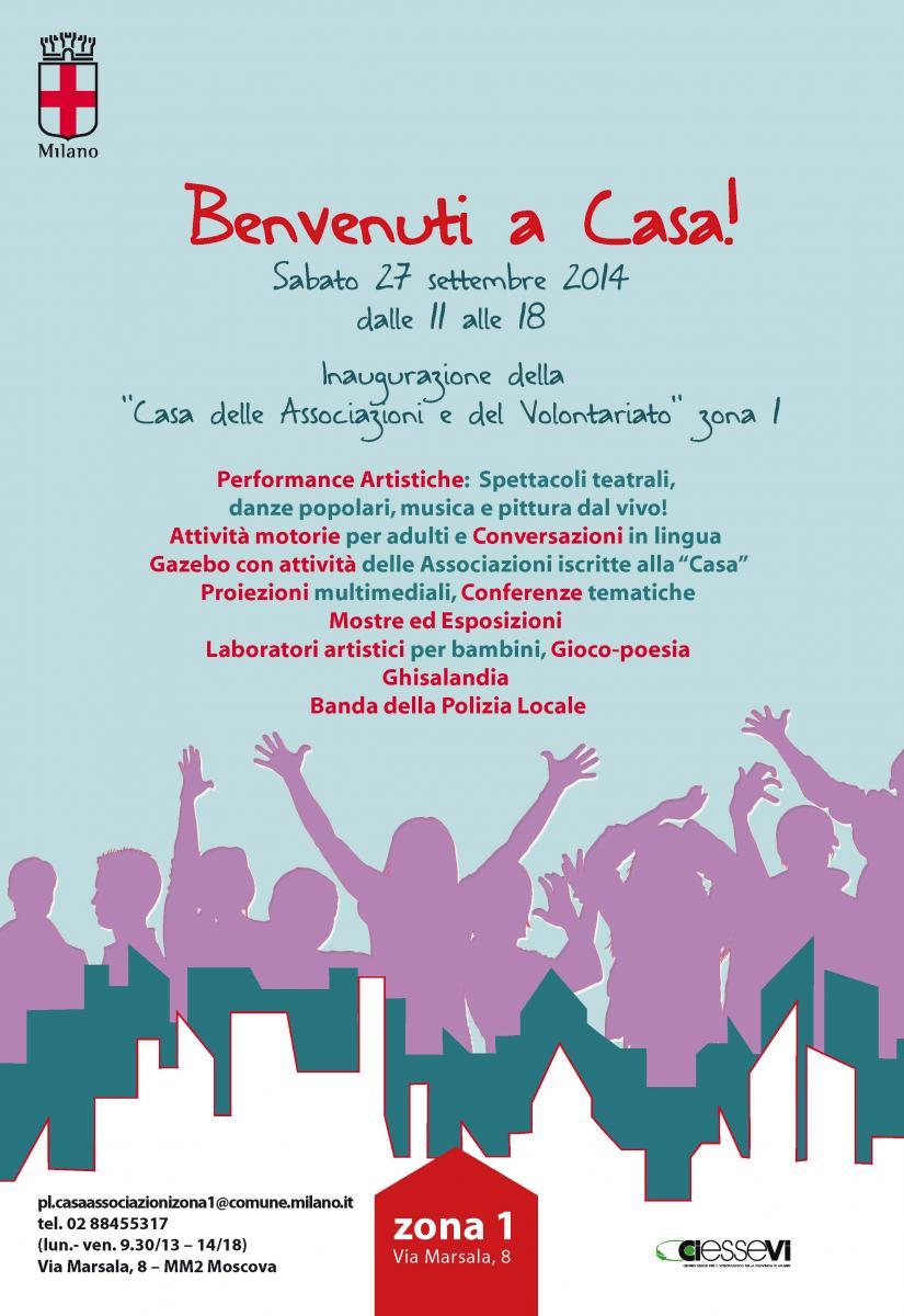 27.09.14 Inaugurazione della Casa delle Associazioni di Milano