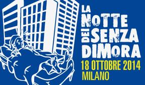 18.10.14 Torna la notte dei senza dimora di Milano