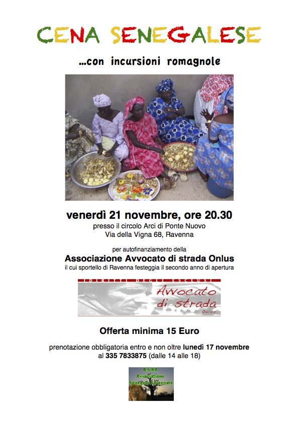 Volantino_cena_senegalese_21_novembre
