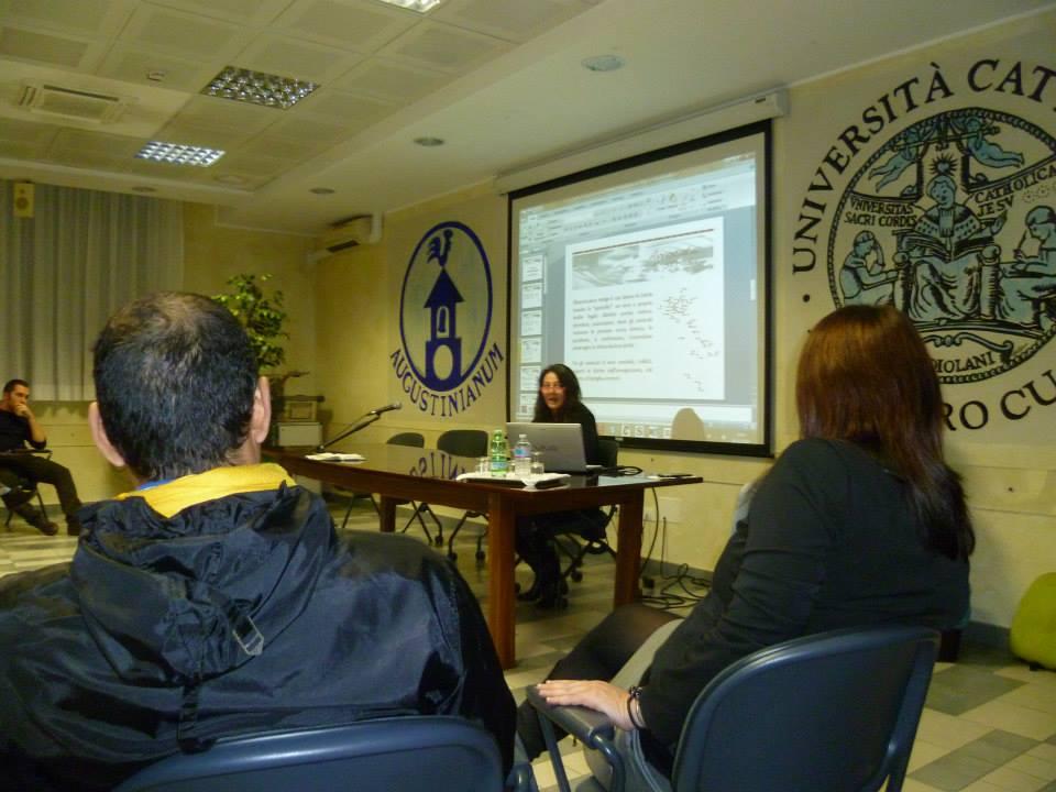 Foto. 28.11.14 Iniziativa alla Cattolica di Milano
