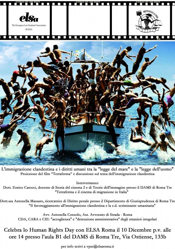 """10.12.14 Human Rights Day: """"Immigrazione clandestina tra solidarietà e rigore"""""""