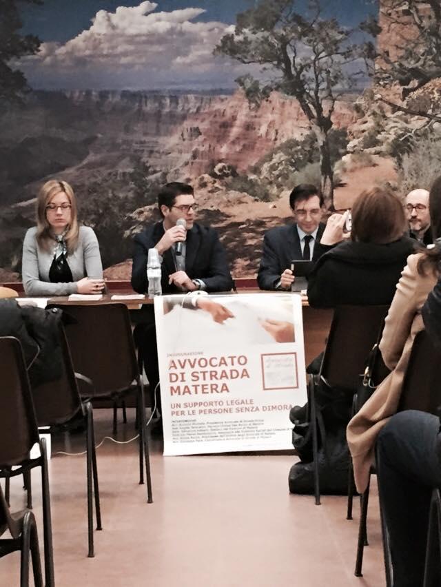 Foto e video inaugurazione Avvocato di strada Matera