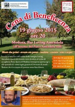 19.06.15 Cena di raccolta fondi a Modena