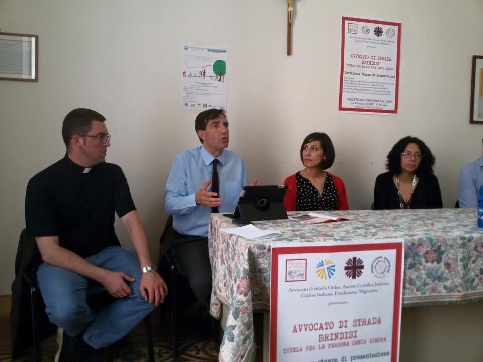 Inaugurata la nuova sede di Avvocato di strada Brindisi