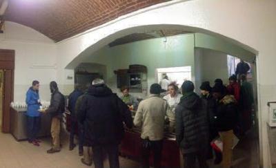 alla mensa del Corpus Domini di Milano