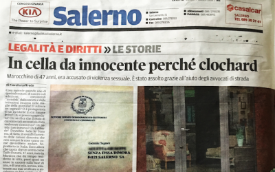 Salerno. In cella da innocente perchè clochard, assolto dopo un anno