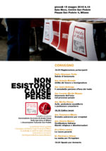 """19.05.16 Milano. Convegno """"Non esistono cause perse"""""""