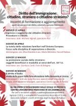 """Padova: """"Diritto dell'immigrazione: cittadino, straniero o cittadino straniero?"""""""