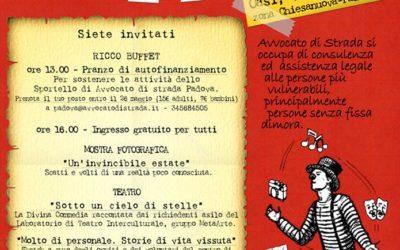 29.05.16 La festa dei volontari di Avvocato di strada Padova