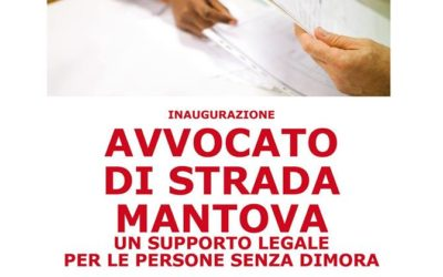 04.06.16 Inaugurazione Avvocato di strada Mantova