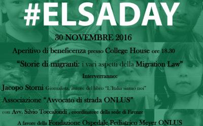 30.11.16 Elsa Day a Bologna, Milano, Modena, Firenze e Padova