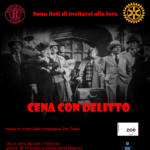 """07.02.17 A Bologna una """"Cena con delitto""""!"""