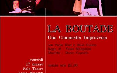 """17.03.17 Bologna, """"La boutade"""" a teatro"""