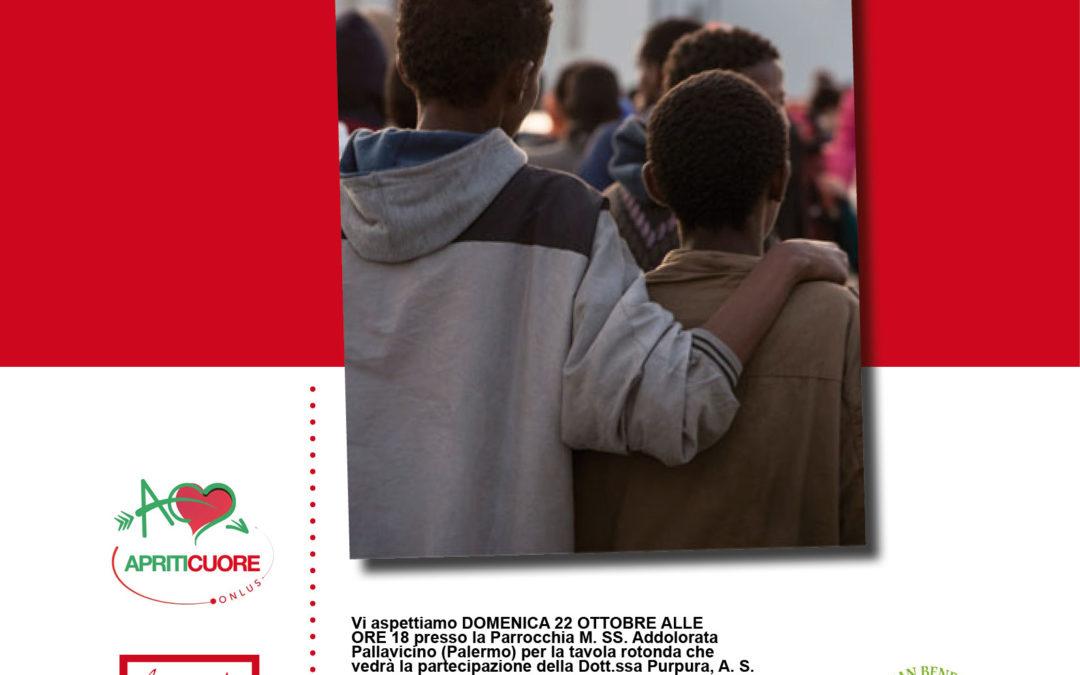 """Progetto Never Alone. A Palermo la tavola rotonda """"Diamo spazio alle famiglie"""""""