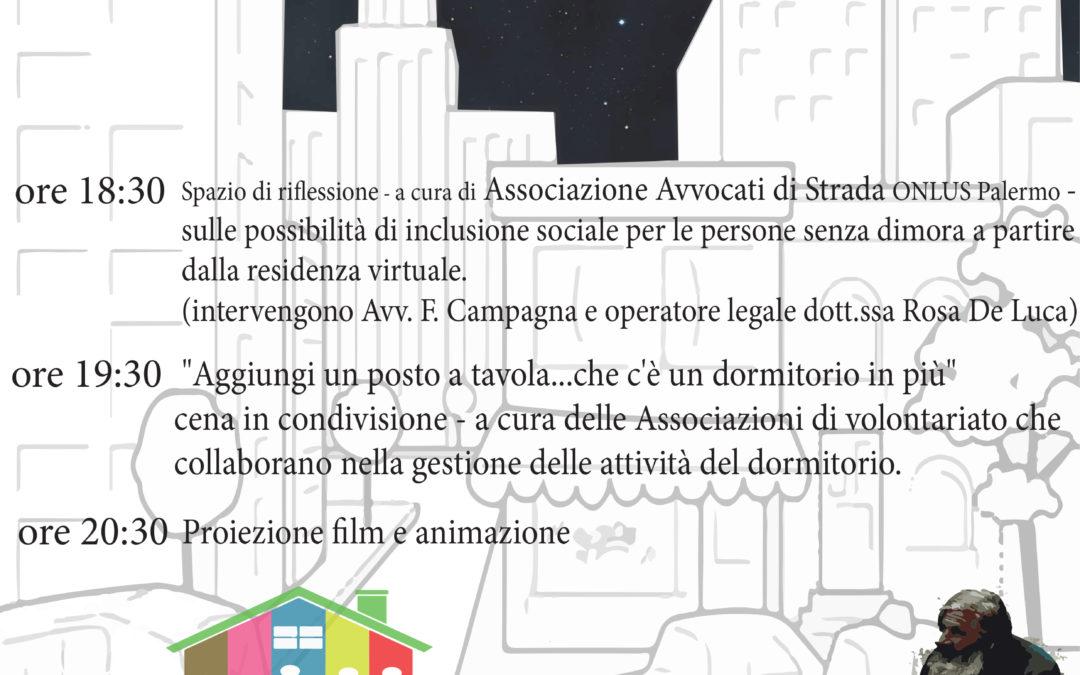 """13.10.17 Palermo, """"Aggiungi un posto a tavola"""""""