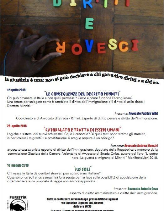 """""""Diritti e Rovesci"""", al via la rassegna organizzata da Romagna Migrante"""
