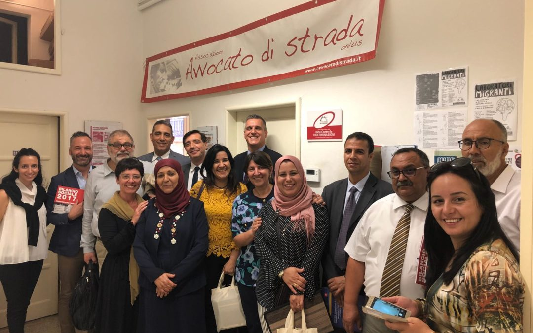 Visita della delegazione tunisina