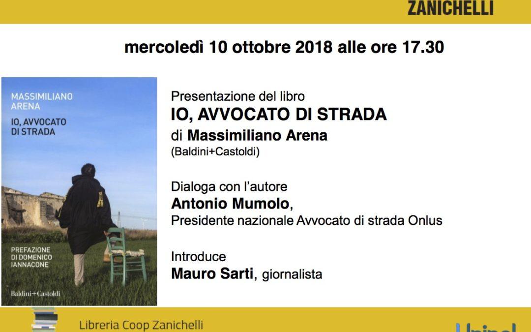 """""""Io, avvocato di strada"""". Presentazione pubblica a Bologna"""