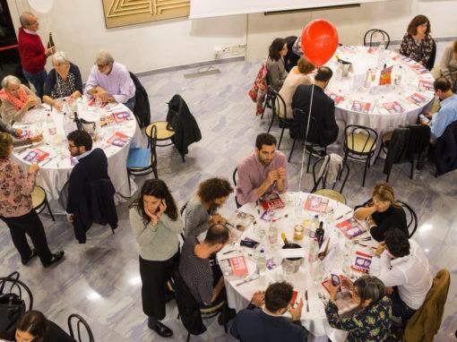 """19.10.18 Bologna. Foto e video de """"La cena dei diritti"""""""