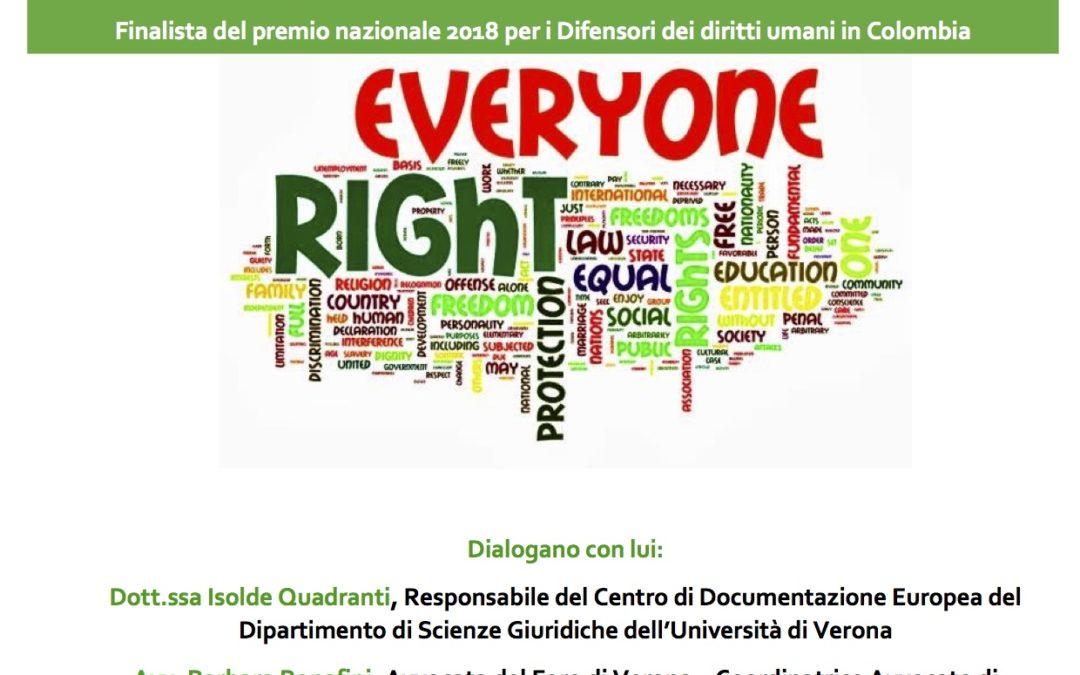 La difesa della terra e della comunità. Incontro con Eduin Mauricio Capaz Lectamo