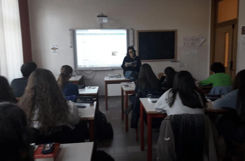 Volontari dei diritto al Liceo Curie-Levi di Collegno