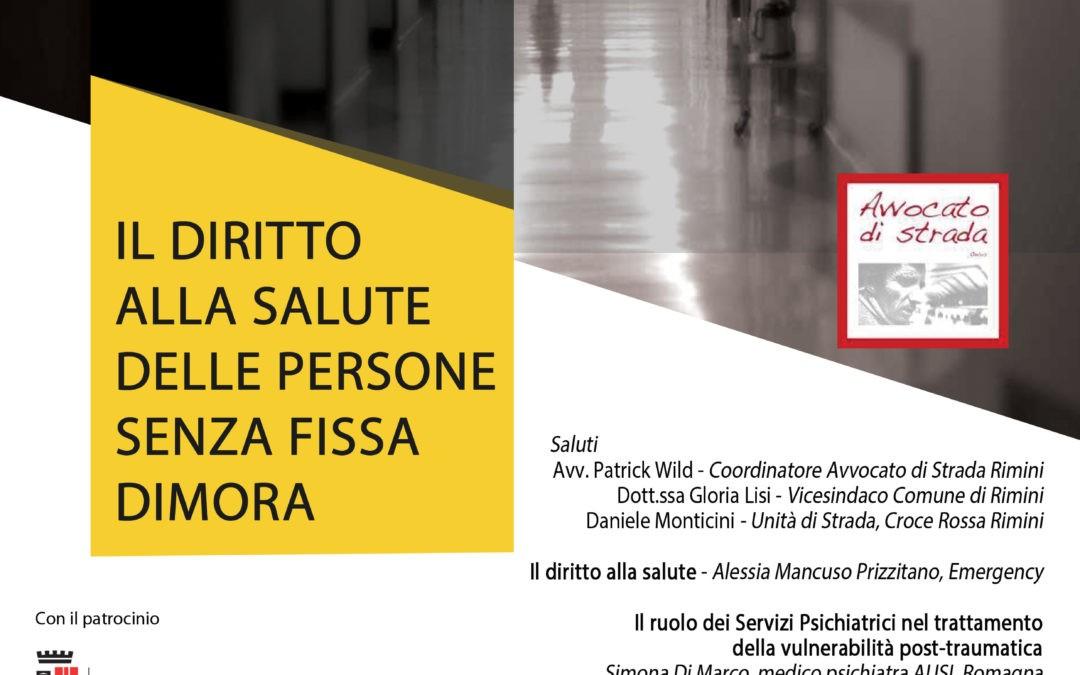 """28.03.19, Rimini: """"Accesso alle cure: un diritto di tutti?"""""""