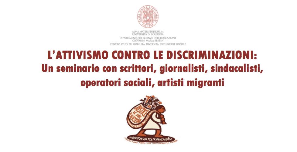 """28.03.19, Università di Bologna: """"L'attivismo contro le discriminazioni"""""""