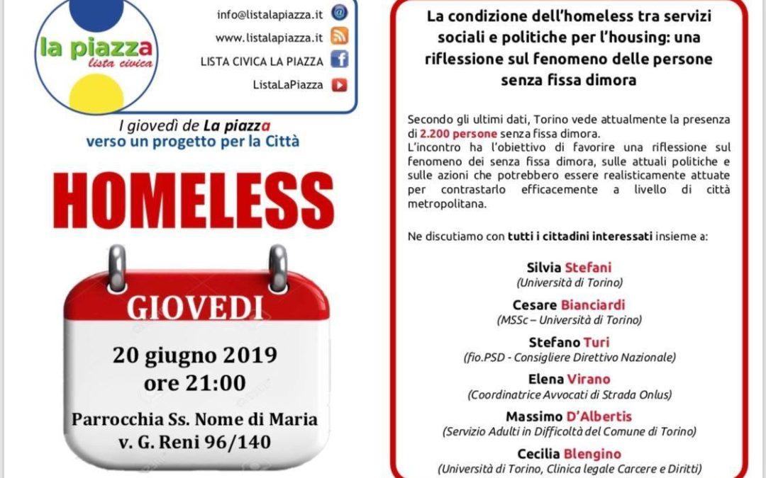 "20.06.19, Torino ""Homeless"""