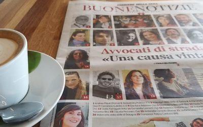 """Corriere Buone Notizie. """"Avvocato di strada, una causa vinta"""""""