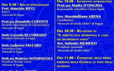 """Convegno finale """"Clinica legale Foggia"""""""