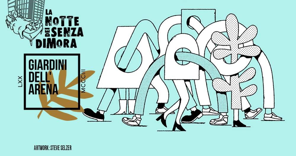 Padova, La notte dei senza dimora 2019