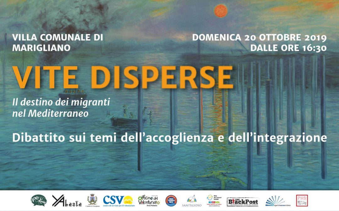 20.10.19 Vite Disperse, dibattito pubblico su accoglienza e integrazione