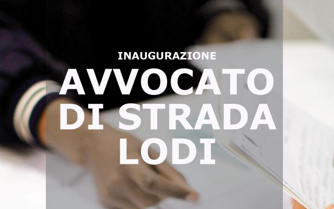 16.11.19 Inaugurazione Avvocato di strada Lodi