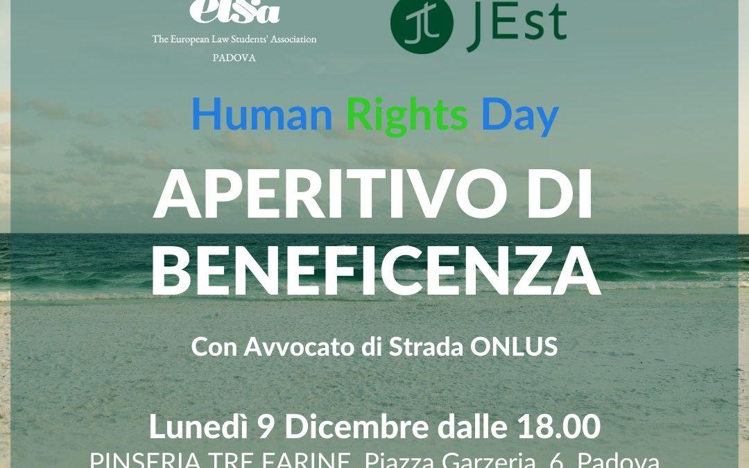 Human Rights Day, aperitivo di Natale a Padova