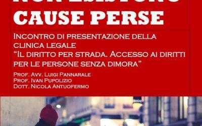 """Presentazione della clinica legale """"Il diritto per strada"""""""