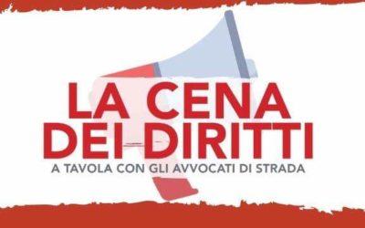 Padova. Cena dei diritti – A tavola con gli avvocati di strada