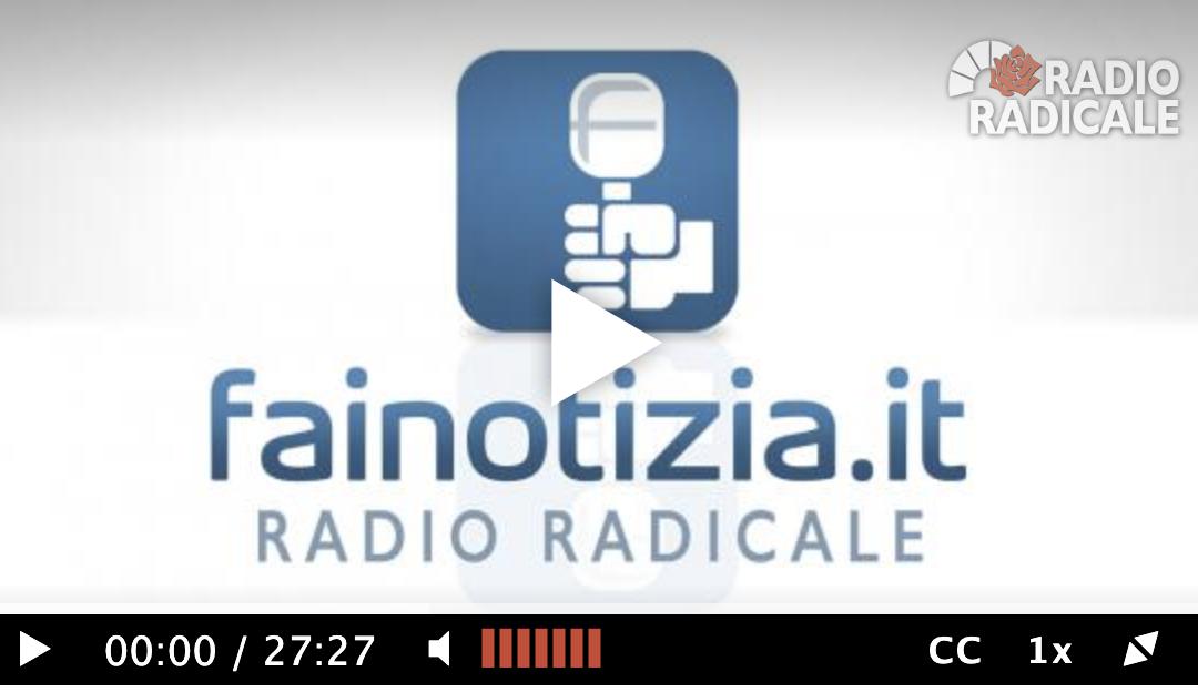 COVID19 e residenza. Intervista a Radio Radicale