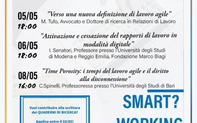 """Smart? Working"", un'iniziativa di Elsa Siena"