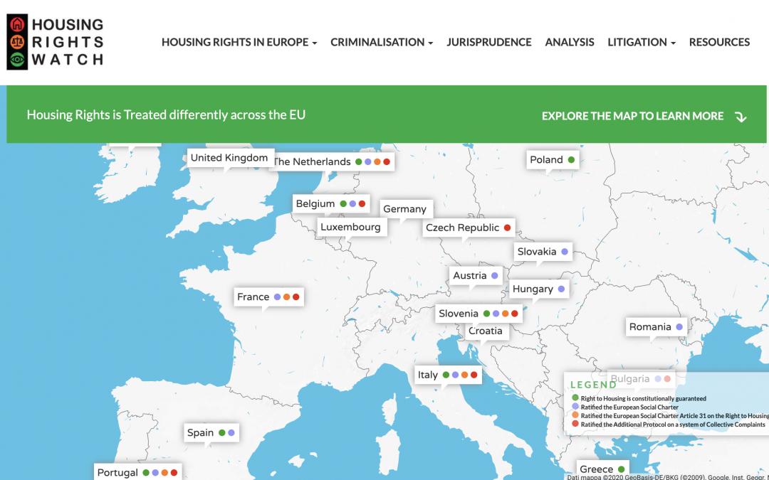 Housing Rights Wats – Italy
