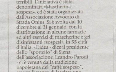 #MascherinaSospesa a Siena