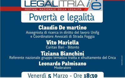 Povertà e legalità