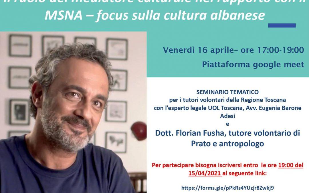 Il ruolo del mediatore culturale – focus sulla cultura albanese