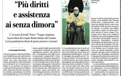 """Repubblica Napoli: """"Più diritti e assistenza ai senza dimora"""""""