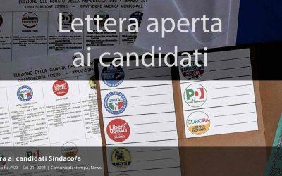 "Fio.PSD: ""Lettera aperta ai candidati sindaci"""